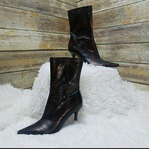 Gianni Bini Leather Boots